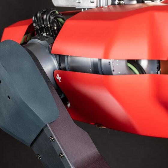ANYmal C legged robot close-up Swiss-made