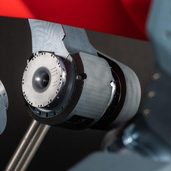 ANYmal C legged robot close-up legs