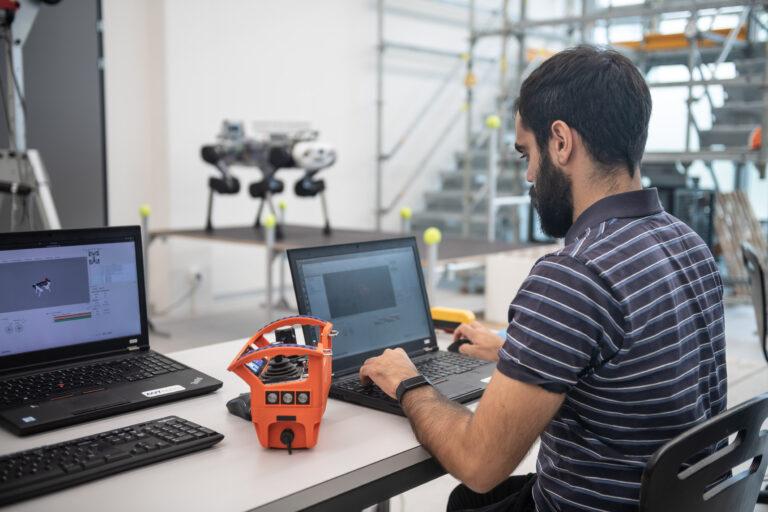 Robotics engineer at ANYbotics