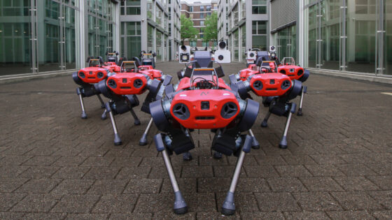 ANYmal C Robot Customer Delivery