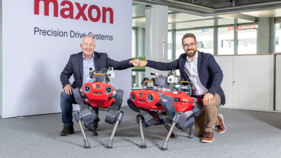 maxon ANYbotics partnership