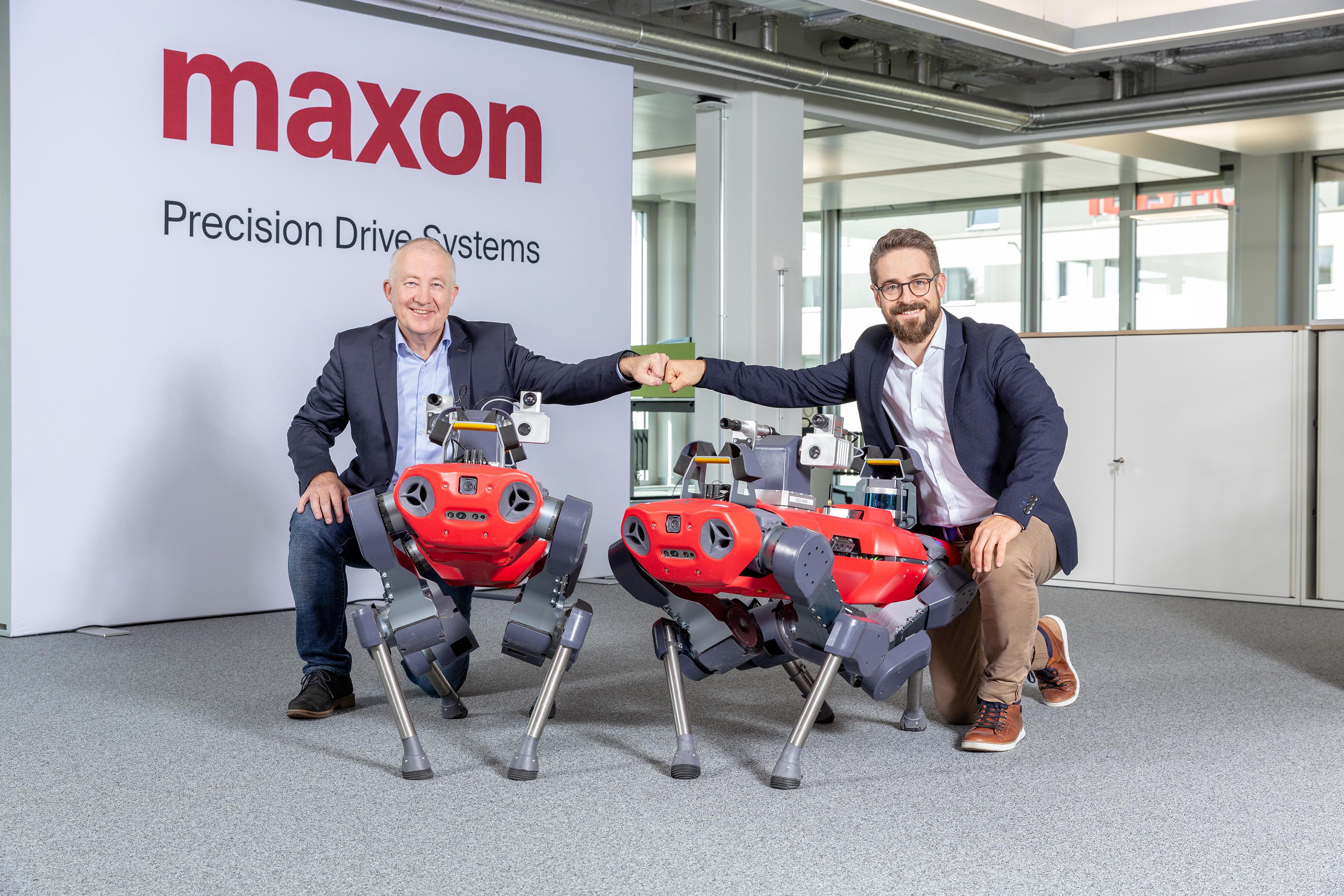 maxon ANYbotics partnership