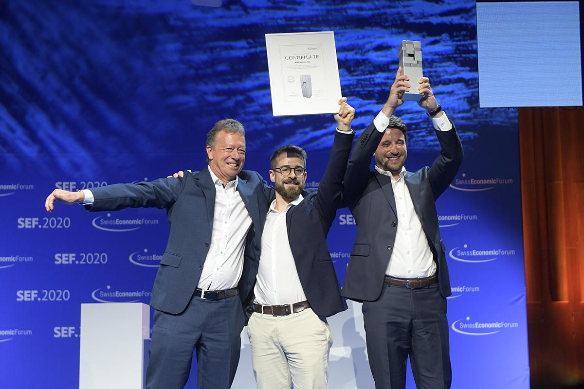 ANYbotics Swiss Economic Award Winner