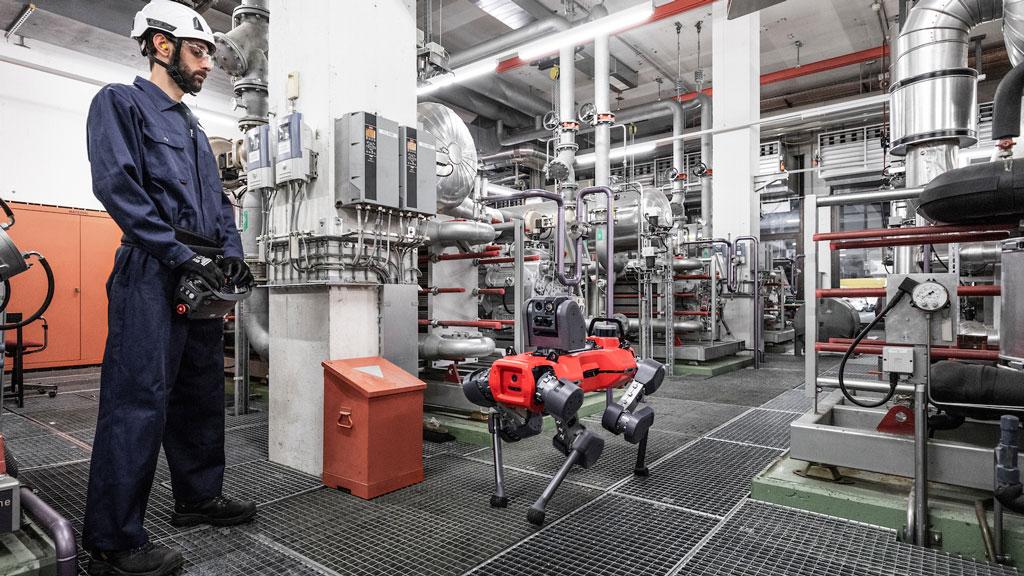 ANYmal inspection autonomous robot show and go