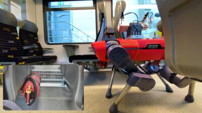 ANYmal robot collects data stadler train