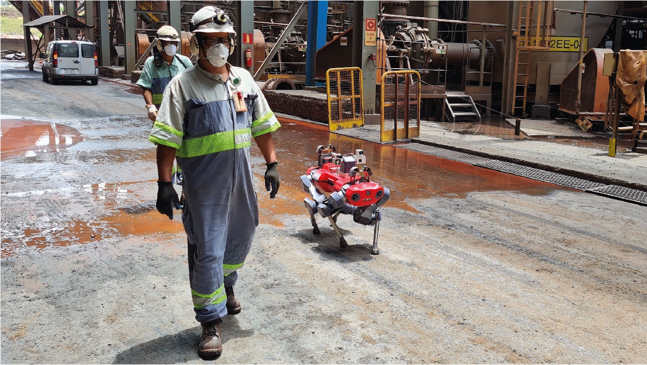 ANYbotics Partners with Vale to Prioritize People in the Mining Industry