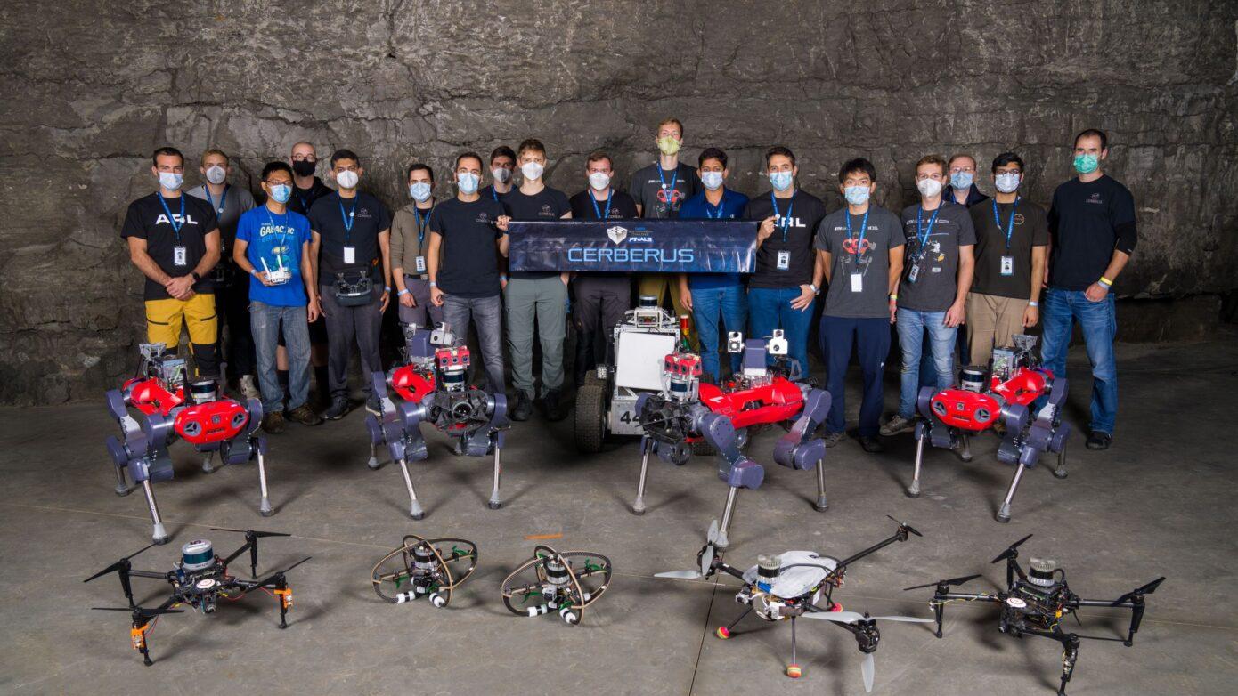 Winner of the world's most prestigious robotics challenge builds on ANYmal